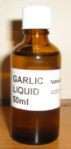 GARLIC LIQUID - HELPS BIRDS CONDITION - ON SEED  - Available in 10ml, 50ml and 100ml